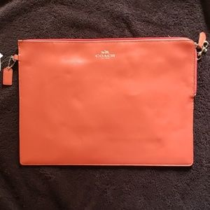 Coach Darcy Leather Metro Tech Pouch, NWT